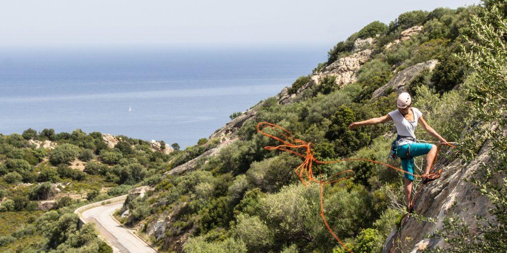Kletterkurs auf Korsika