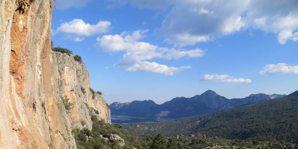 Kletterfelsen in der Türkei