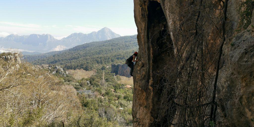 Klettern in der Türkei