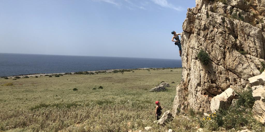 Kletterurlaub auf Sizilien