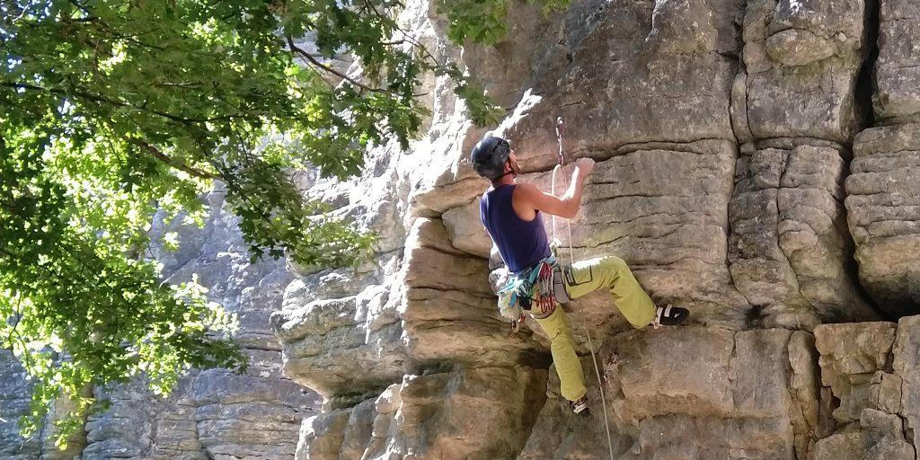 Klettertechnik am Fels