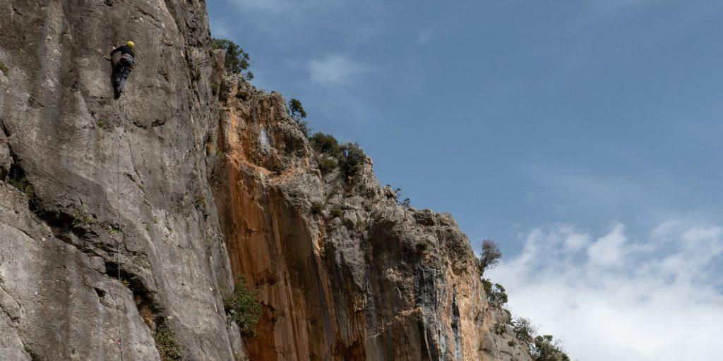 Schöne lange Kletterrouten